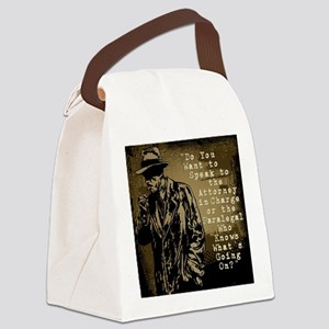 Paralegal In Charge [Det. Edition Canvas Lunch Bag